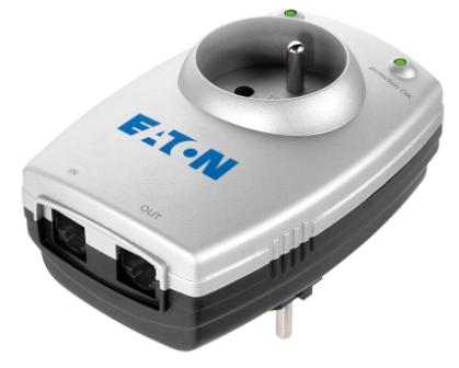 Eaton Protection Box 1 Tel@ FR, přepěťová ochrana, 1 zásuvka