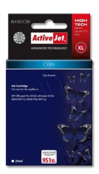 Ink ActiveJet AH-364CCX | Cyan | 12 ml | HP HP 364XL CB323EE