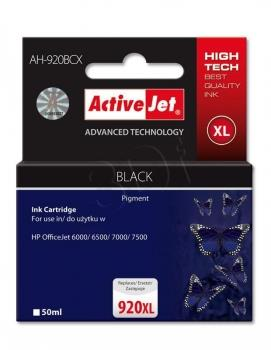 Kazeta ActiveJet AH-920BCX | černá | 50 ml | HP HP 920XL CD975AE