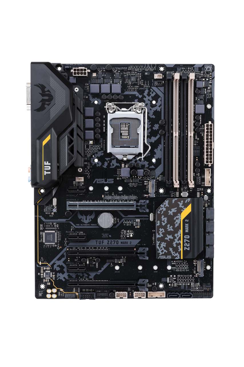 ASUS TUF Z270 MARK 2, s.1151, Z270, DDR4, PCIe 3.0x16, SATAIII, ATX