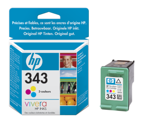 HP C8766E Ink Cart No.343 pro DJ 5740,6540, 7ml, Color