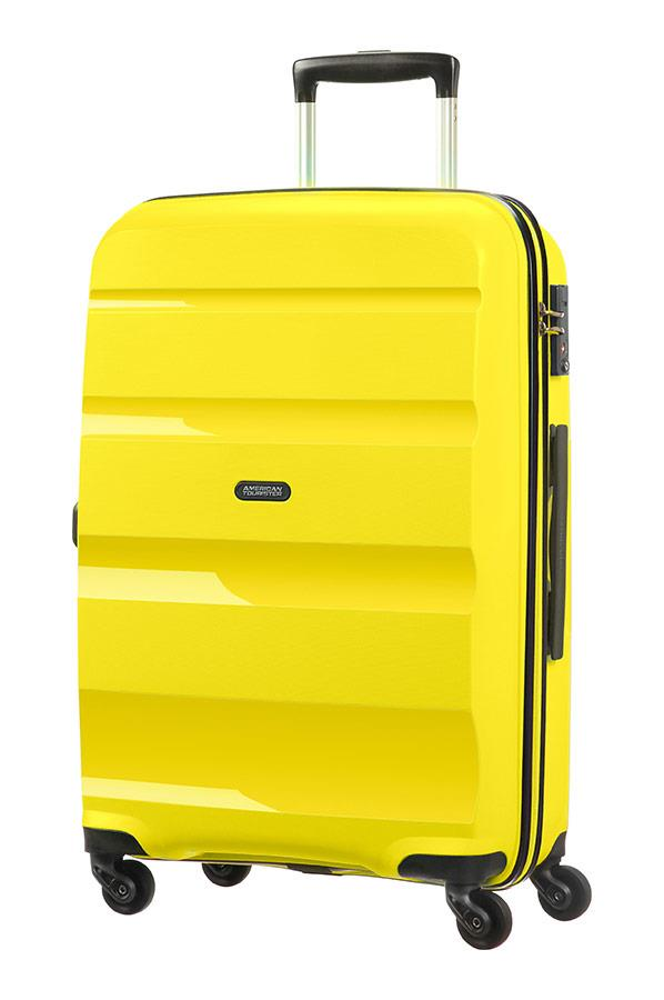 Spinner American Tourister 85A06002 BonAir M 4wheels luggage, yellow