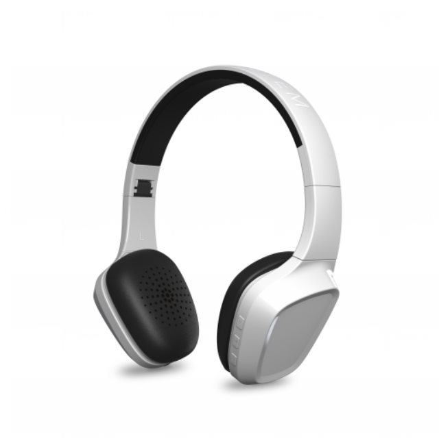 ENERGY Headphones 1 Bluetooth White, stylová Bluetooth 3.0 sluchátka, 93 ±3 dB