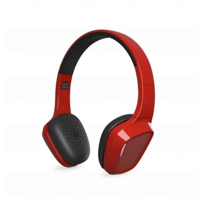 ENERGY Headphones 1 Bluetooth Red, stylová Bluetooth 3.0 sluchátka, 93 ±3 dB