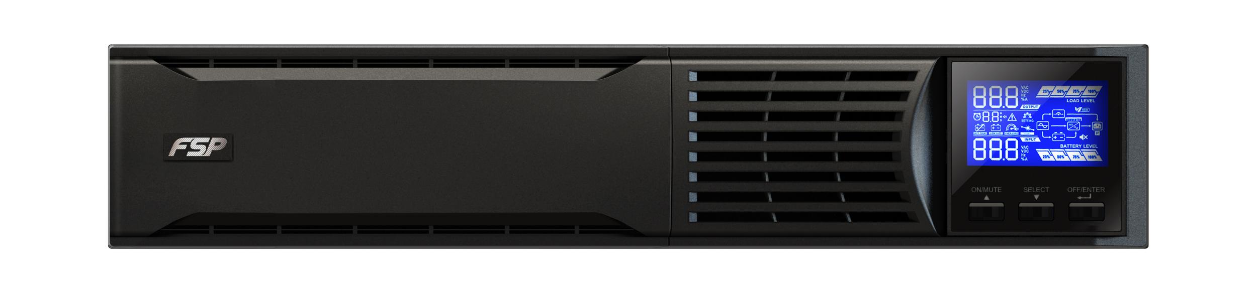 FSP/Fortron UPS CHAMP 1000 VA rack 2U, online