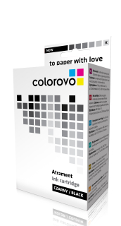 Inkoust COLOROVO 1281-BK   Black   12 ml   Epson T1281
