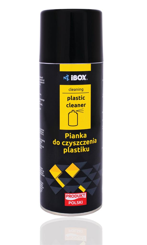 I-BOX čistící pěna na plasty 400ml