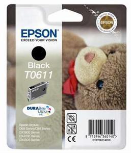 EPSON Ink čer Stylus D68/D88/DX3850/DX4850 T0611