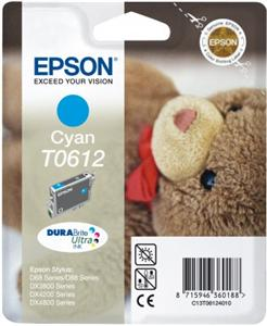 EPSON cartridge T0612 cyan (medvídek)