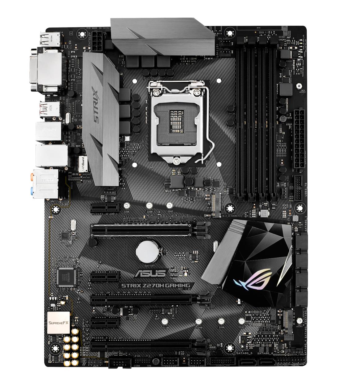 ASUS STRIX Z270H GAMING, s.1151, Z270, DDR4, PCIe 3.0x16, SATAIII, ATX