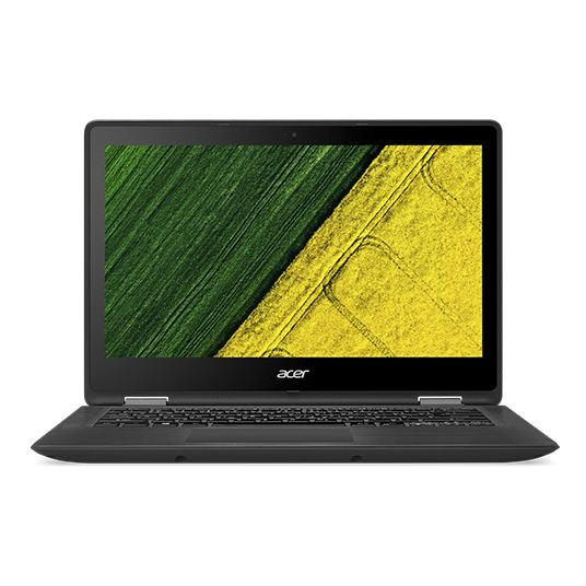 "Acer Spin 5 (SP513-51-32BZ) i3-7100U/4 GB+N/256 GB SSD M.2+N/HD Graphics /13.3"" FHD dotykový/W10 Home/Black"