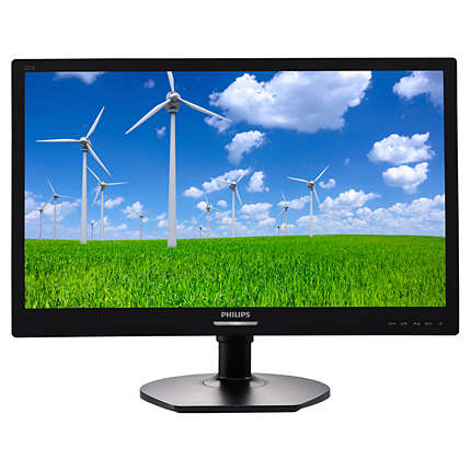 "Philips LCD 221S6QYMB/00 21,5"" Wide IPS/1920x1080/20M:1/5ms/250 cd/VGA/DVI-D/DP/Repro"