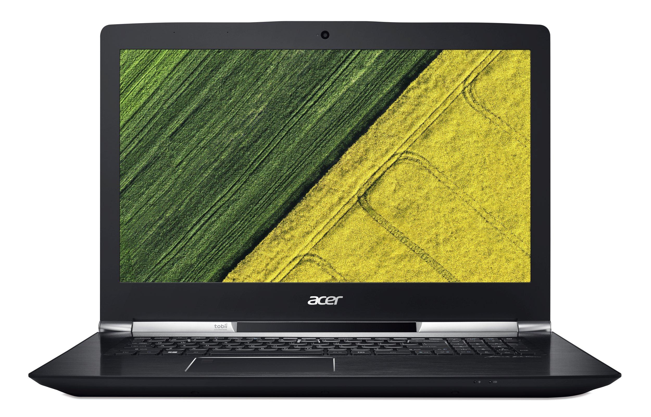 "Acer Aspire V17 Nitro (VN7-793G-71UV) i7-7700HQ/8GB+8GB/256GB SSD+1TB/GTX 1060 6GB/17.3"" FHD IPS matný/BT/W10 Home/Black"