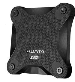 ADATA externí SSD 256GB SD600 USB 3.1 Gen1 3D NAND TLC (čtení/zápis: 440/430MB/s) černá