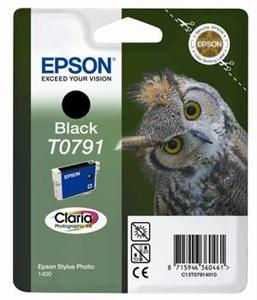 Inkoust Epson T0791 black | Stylus Photo 1400