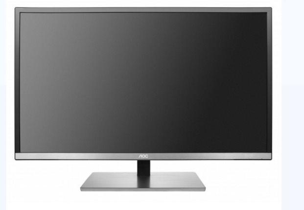 "AOC LCD U3277FWQ 31,5""wide/3840x2160/4ms/80m:1/VGA/DVI/HDMI/DP/pivot/repro/slim"