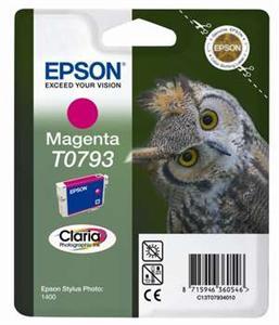Inkoust Epson T0793 magenta | Stylus Photo 1400