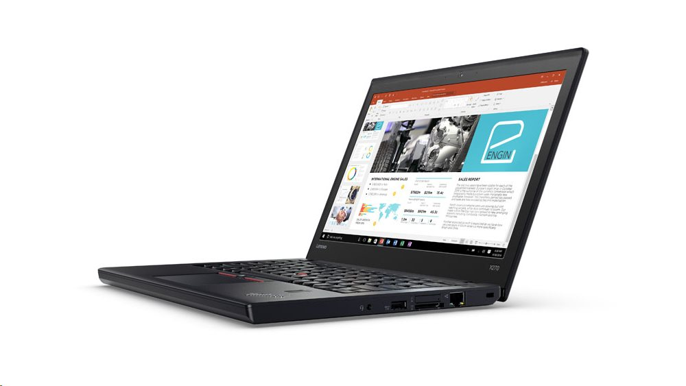 "Lenovo ThinkPad X270 i7-7500U/8GB/256GB SSD/HD Graphics 620/12,5""FHD IPS/4G/W10PRO/Black"