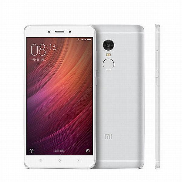 Xiaomi Redmi Note 4 Silver/ 5,5´´ 1920x1080/2,1GHz DeC/3GB/32GB/2xSIM/FP/13MPx/4100mAh