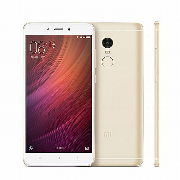 Xiaomi Redmi Note 4 Gold/ 5,5´´ 1920x1080/2,1GHz DeC/3GB/32GB/2xSIM/FP/13MPx/4100mAh
