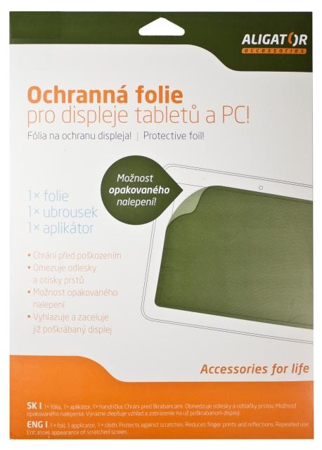 """ALIGATOR Univerz. Folie Tablet 7-8.9"""" transparent"""