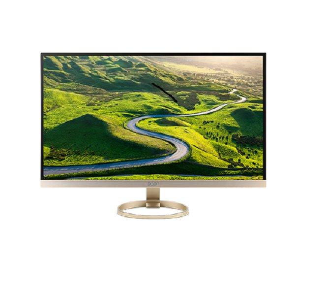"Demo produkt Acer LCD H277HUkmipuz 27"" IPS LED / WQHD 2560x1440/100M:1/4ms/350nits/ HDMI 2.0, DP, USB 3./ZeroFrame/repro/Gold"