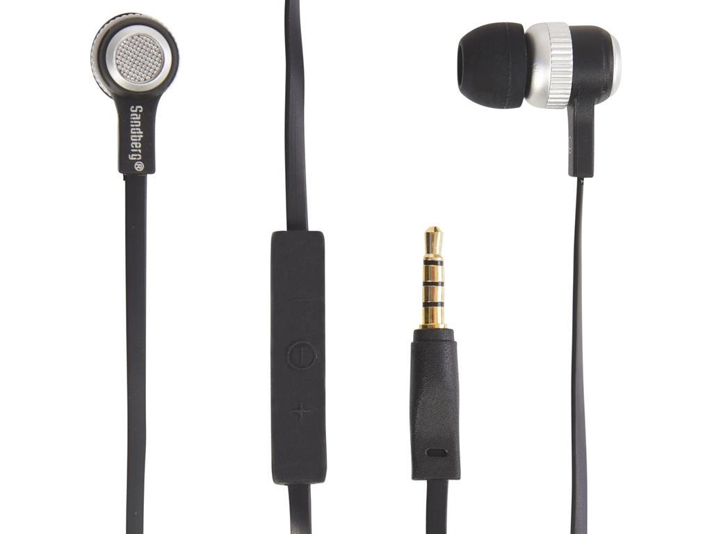 Sandberg Excellence sluchátka do uší s mikrofonem