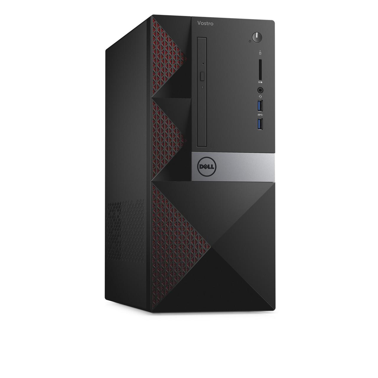 DELL Vostro 3668 MT/i5-7400/4GB/1TB/Intel HD/DVD-RW/Win10 Pro 64bit