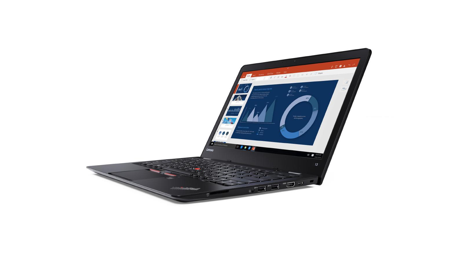 """ThinkPad 13 i7-7500U/8GB/256GB SSD/HD Graphics 620/13,3""""FHD IPS matný/Win10PRO/Black"""