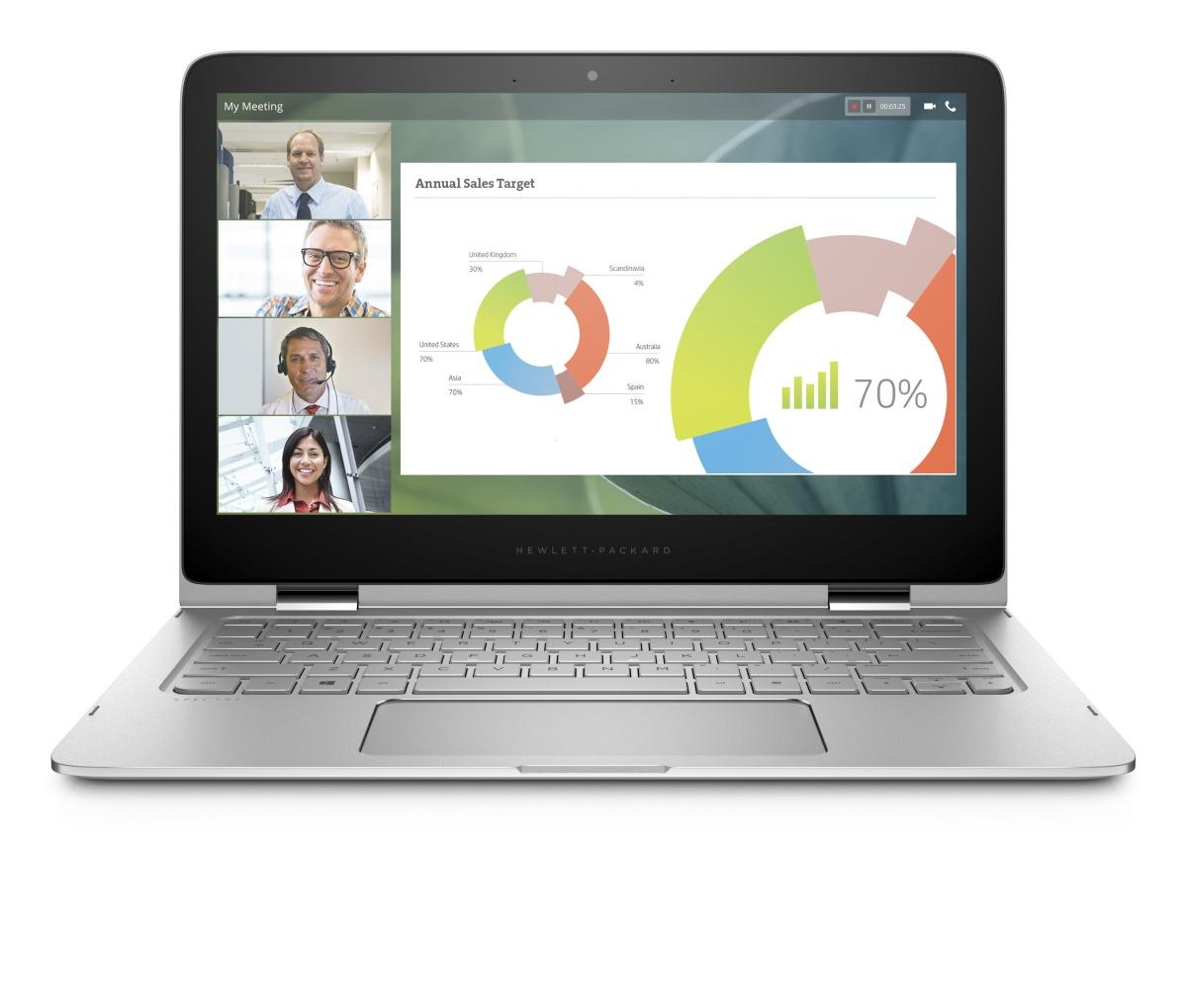 HP Spectre Pro x360 G2 i5-6200U/8GB/256GB SSD/HD Graphics/13,3'' FHD Touch/backlit kbd/Win 10 Pro 64
