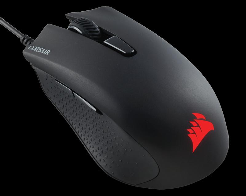 Corsair optická herní myš HARPOON RGB, 6000 dpi, 6 tlačítek, černá