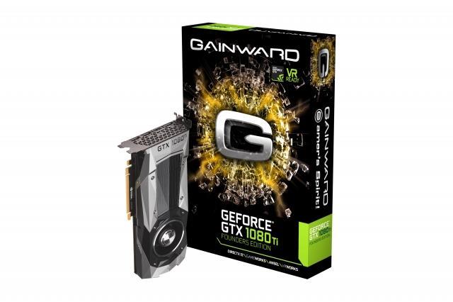 Gainward GeForce GTX 1080Ti Founders, 11GB GDDR5X