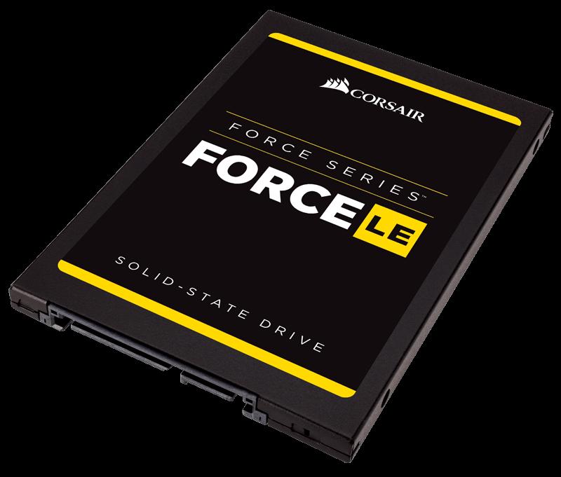 Corsair SSD Force LE 2.5'' 480GB SATA 3 (560/530MB/s)