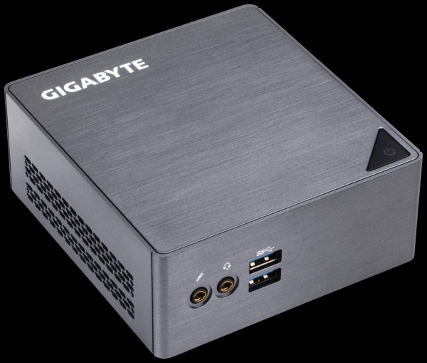 GIGABYTE Mini PC Celeron,16GB DDR3L,Gigabit LAN,HD Graphics 510, PCIe M.2 NGFF, M.2, 4xUSB 3.0, HDMI,mDP,VESA