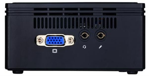 GIGABYTE Mini PC Celeron, 8GB DDR3L, Gigabit LAN, HD Graphics 400, PCIe M.2 NGFF, HDMI, 4xUSB 3.0, VESA
