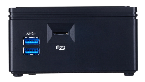 GIGABYTE Mini PC Celeron, 8Gb DDR3, Gigabit LAN, HD Graphics, PCIe M.2 NGFF, HDMI, 4xUSB 3.0, VESA