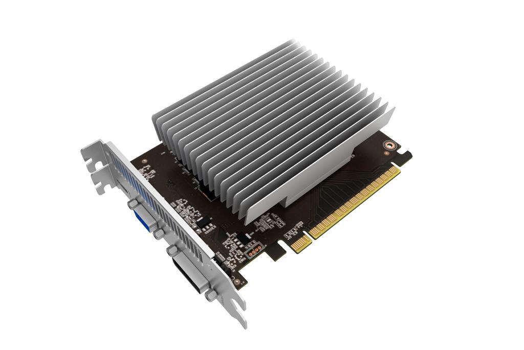 PALIT GeFore GT 730 KalmX 4GB 64bit sDDR5, DVI + HDMI + CRT