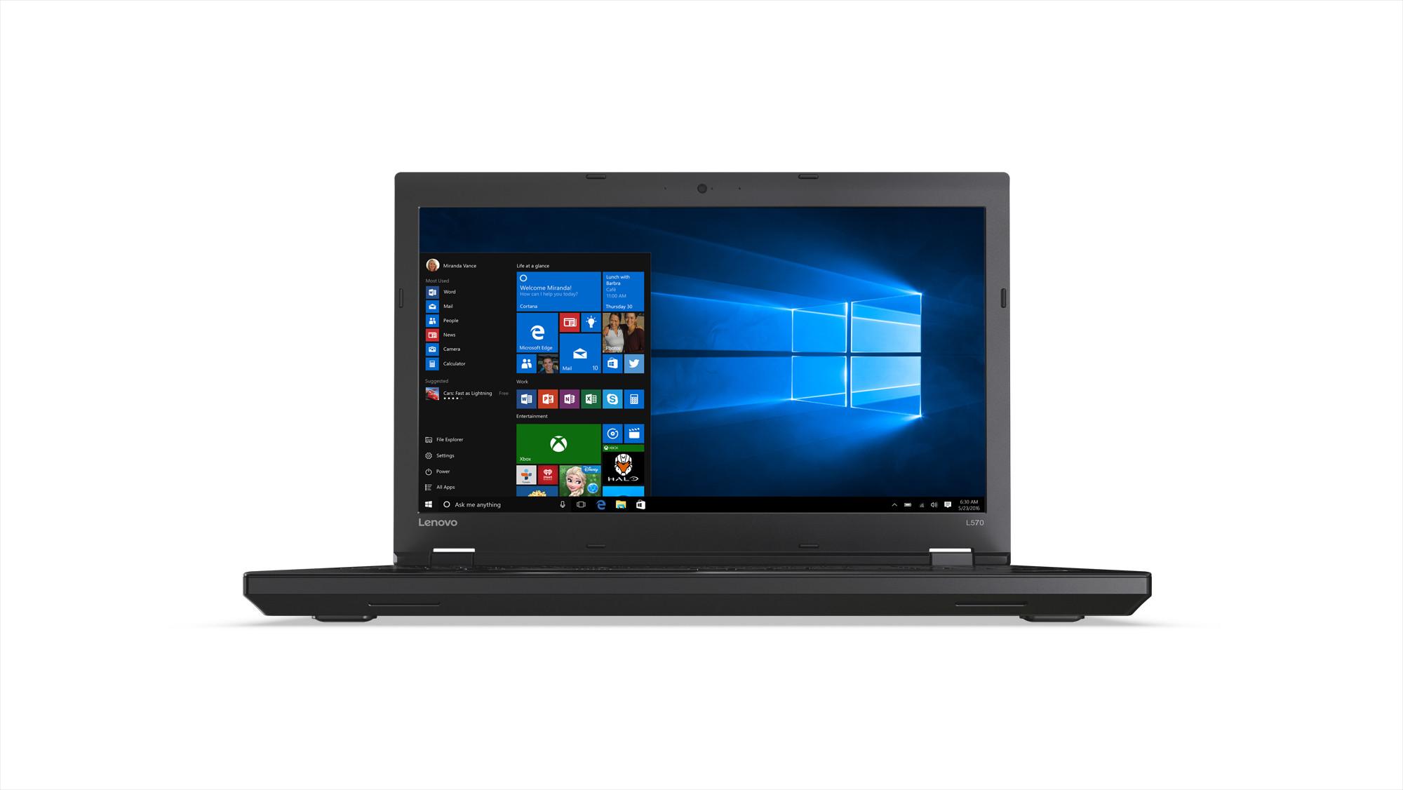 """Lenovo ThinkPad L570 i5-7200U/8GB/256GB SSD/HD Graphics 620/DVD±RW/15,6""""FHD IPS/W10PRO/Black"""
