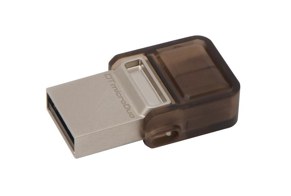 Kingston DataTraveler microDuo 16GB OTG USB 2.0 flashdisk, USB + micro USB