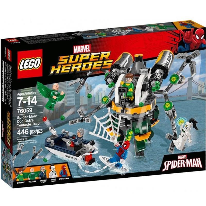 LEGO SUPER HEROES 76059 Spiderman: Doc Ock's Tentacle Trap