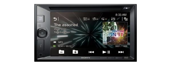 SONY XAV-W651BT Autorádio (velikost 2 DIN) s DVD/CD mechanikou