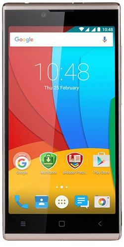 """PRESTIGIO Grace Q5, 5.0"""" HD IPS, Dual SIM, Android 5.1, Quad Core 1,3GHz, 1280*720, 8GB ROM,1GB RAM, 8+2Mpx, zlatý"""
