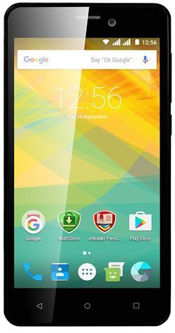"""PRESTIGIO MultiPhone Wize NK3 - 3527DUO, 5"""", Dual SIM, Android 6.0, Quad Core 1,2GHz, 4GB ROM, 5Mpx, MicroSD slot, zlatý"""