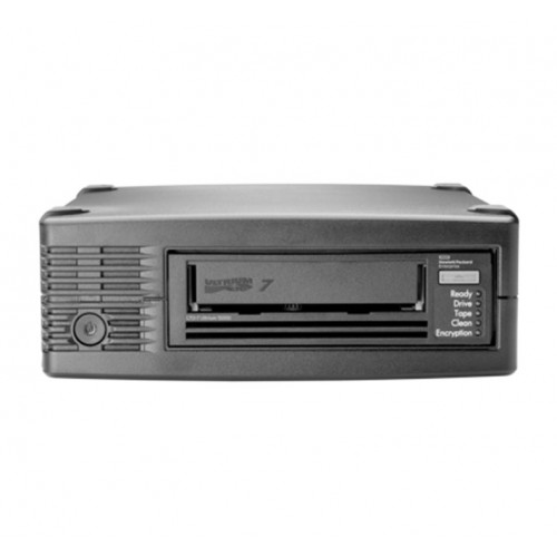 HPE LTO-7 Ultrium 15000 External Tape Drive (BB874A) + 4x LTO-7 Ultrium 15 TB RW Data Cartridge (C7977A)