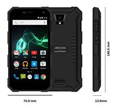 "ARCHOS 50 Saphir,5.0""1280x720 IPS,Gorilla glass4,ip68,1.5GHz QC,2GB/16GB,Android 6,13+5mpx,LTE,SD,DSIM,5000mAh,černý"