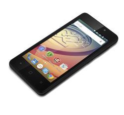 "PRESTIGIO Wize F3, 4.5"", Dual SIM, Android 5.1, Quad Core 1.2GHz, 2Mpx, MicroSD slot, černý, BAZAR"