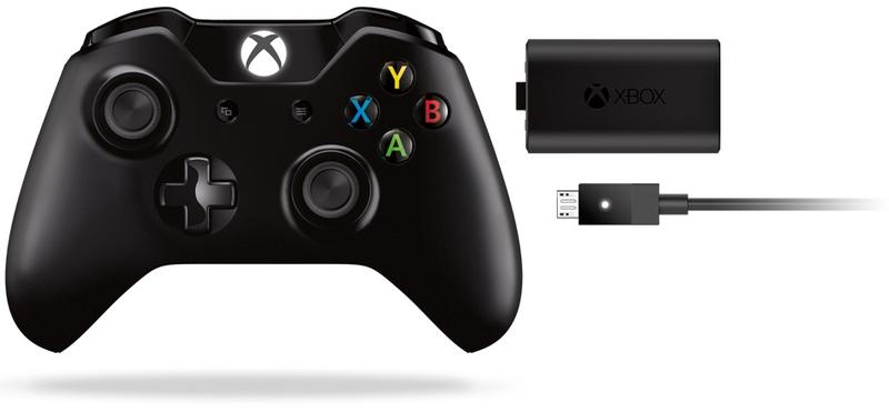 Xbox One Microsoft Xbox One Wireless Controller with Play & Charge Kit