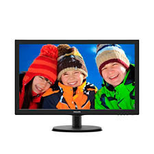 "Philips LCD 223V5LSB 21,5""wide/1920x1080/5ms/10mil:1/VGA/DVI/LED"
