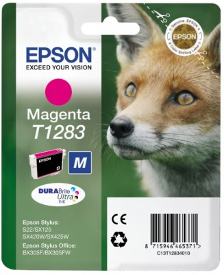 EPSON cartridge T1283 magenta (liška)