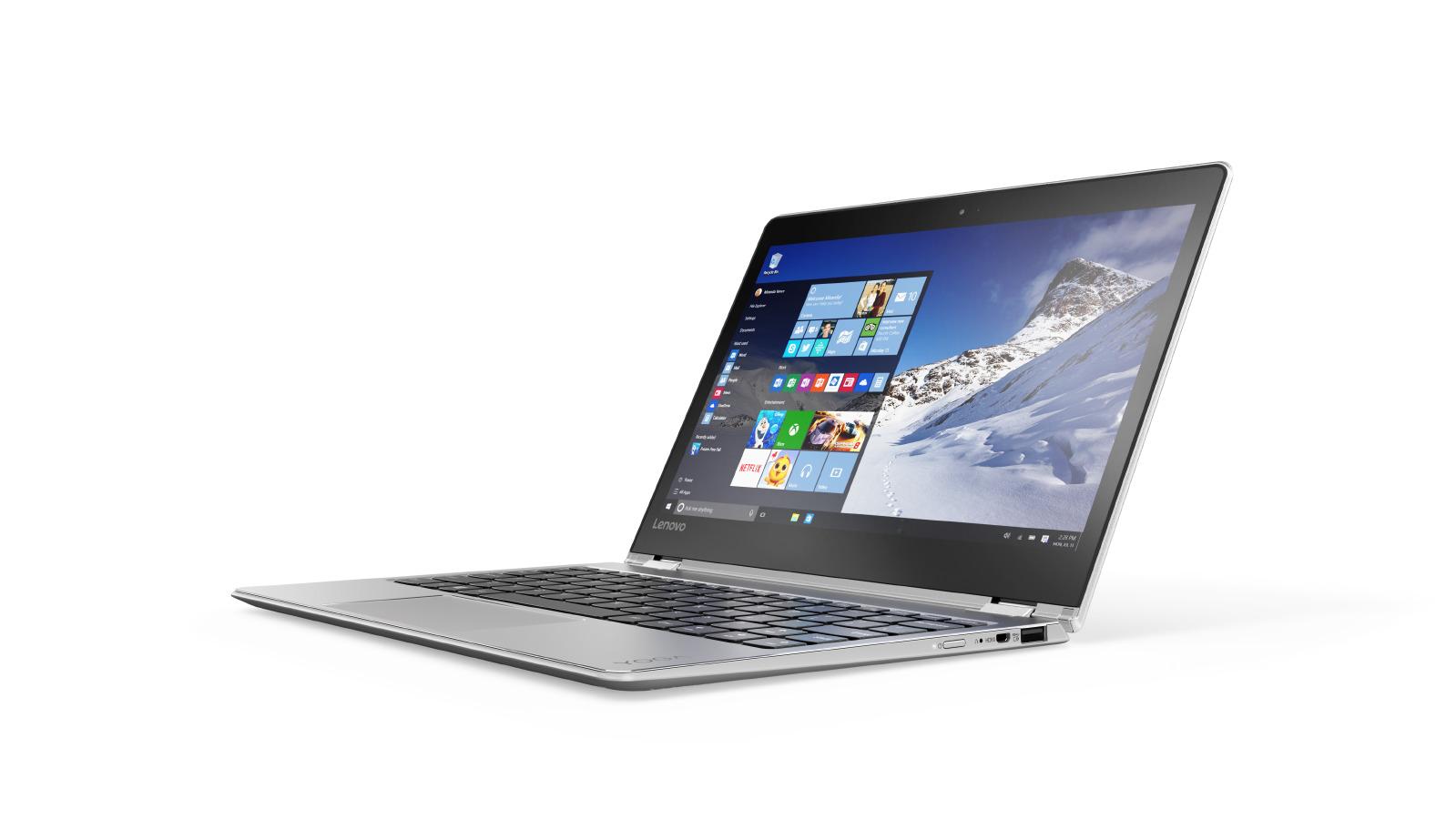 "Lenovo YOGA 710-11IKB Core M3-7Y30 2,60GHz/8GB/SSD 256GB/11,6"" FHD/IPS/multitouch/WIN10 stříbrná 80V60020CK"